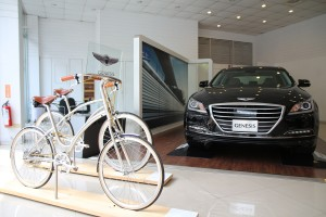 Displayed with Car Brand-Genesis
