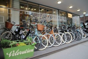 Find AOI.CYCLE at London High-end Bicycle Shop Velorution
